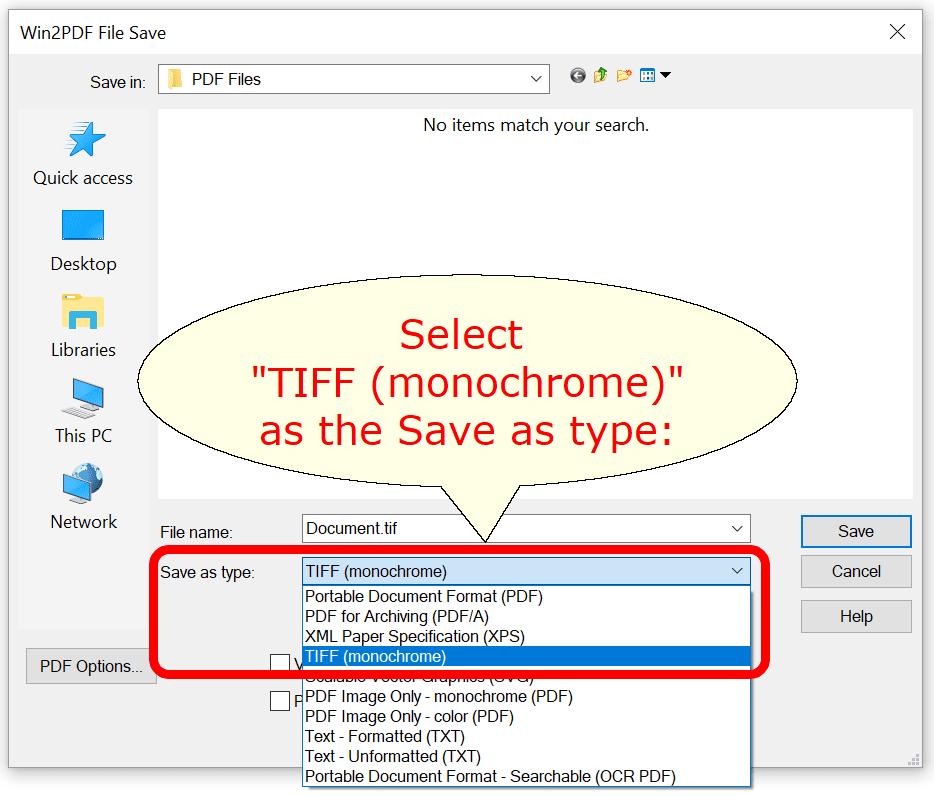 tif to pdf portable