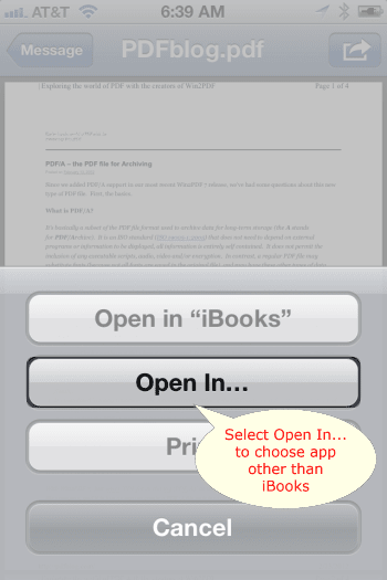 How to Transfer a PDF to an Apple iPhone