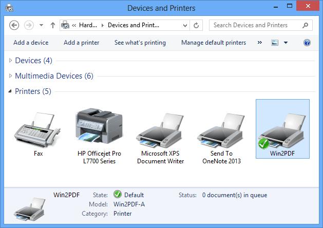 Pdf принтер windows - фото 3
