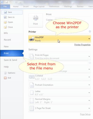document .pdf as word saving